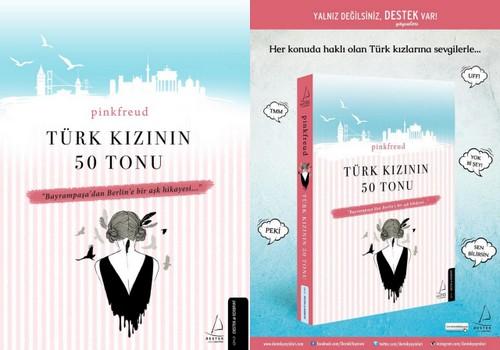 Kitabım Çıktı!!! Türk Kızının 50 Tonu