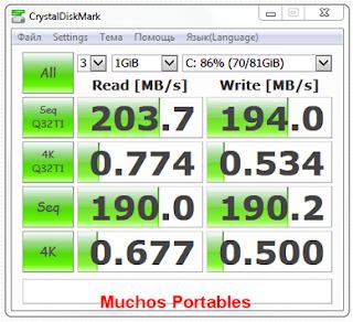 CrystalDiskMark v5.2.0...
