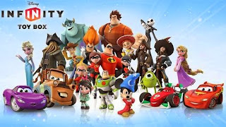 Screenshots of the Disney infinity: Toy box Mod for Android tablet, phone.