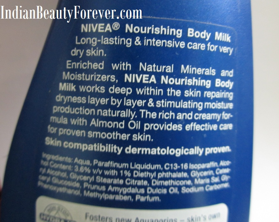 Nivea Body Milk for Very dry skin Review