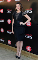 Kelly Brook  arrives for Crazy Horse Photocall in London