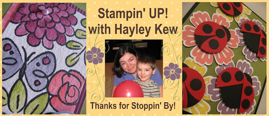 Stampin' UP! with Hayley Kew