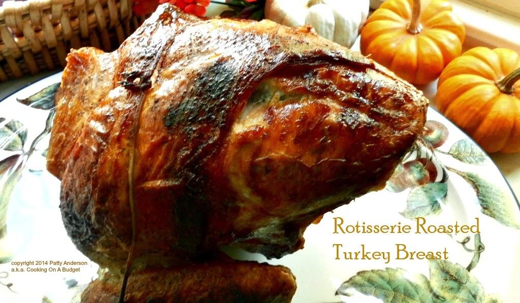 Rotisserie Roasted Turkey Breast