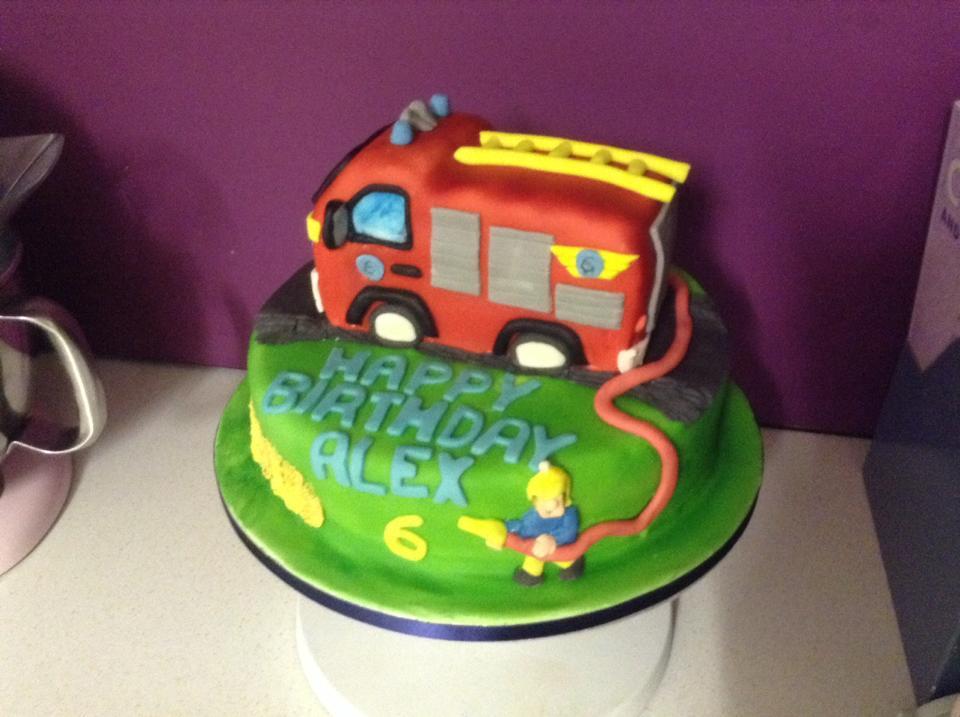Chintzy Cakes Fireman Sam Birthday Cake