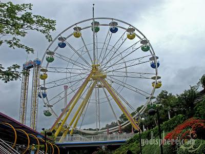 Towering Ocean Park Ferris Wheel