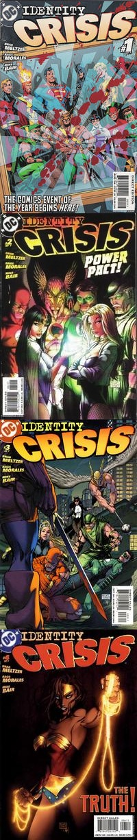 Identity Crisis - Brad Meltzer Rags Morales
