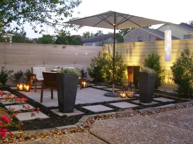 Modern Garden Design Examples 14