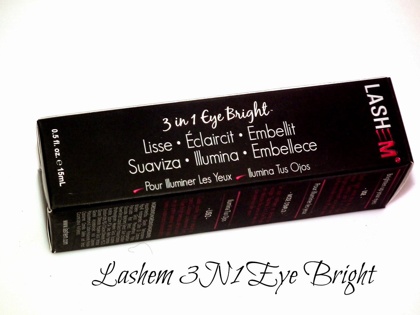 Lashem 3 in 1 Eye Bright Gel Reviews