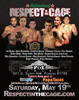 Respect in the Cage MMA May 19
