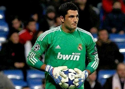 Antonio Adan Real Madrid