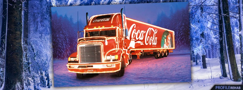 Coca Cola Truck Christmas Cover Photo