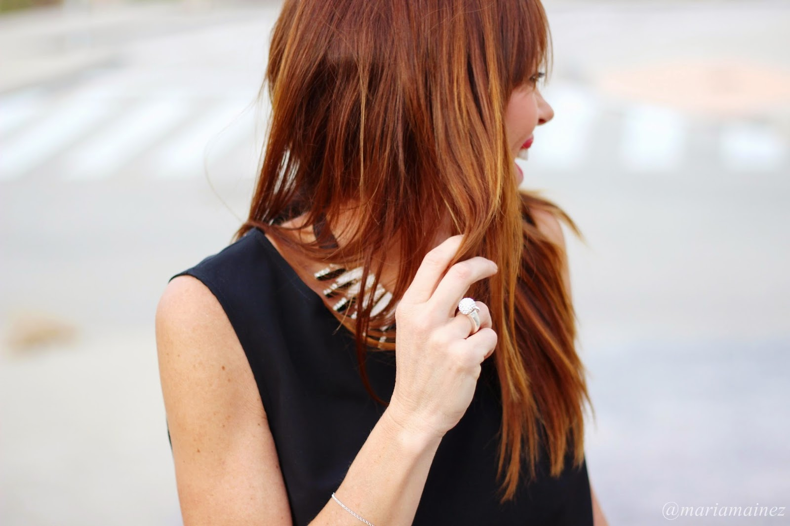 Fashion blogger - Collar Denny Rose