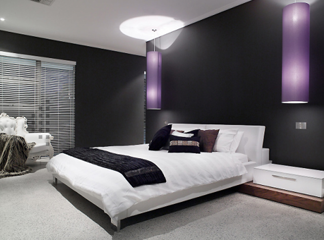 Black And White Bedroom Decorating Ideas