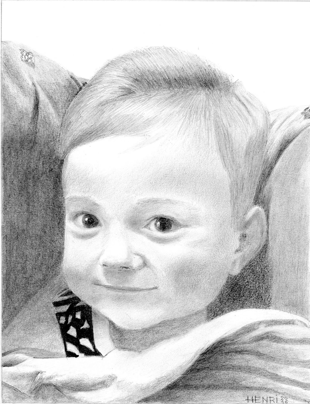 Mon petit neveu Rohann