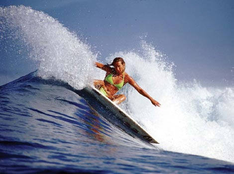 Girl Surfers