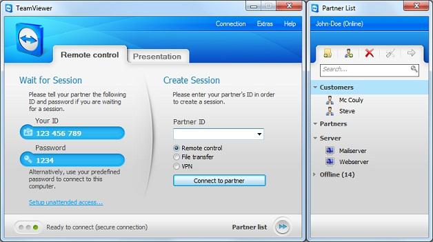 برنامج رائع للتحكم بالحواسيب عن بعد  teamviewer-6-0-build-9947-final.zip  TeamViewer_6