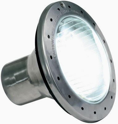 Swimming Pool Light Bulb: Three of the largest swimming pool light manufacturers are Pentair, Hayward  and Jandy. The process of changing a light bulb in a swimming pool/spa  varies ...,Lighting
