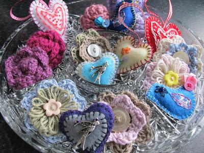 handmade brooches