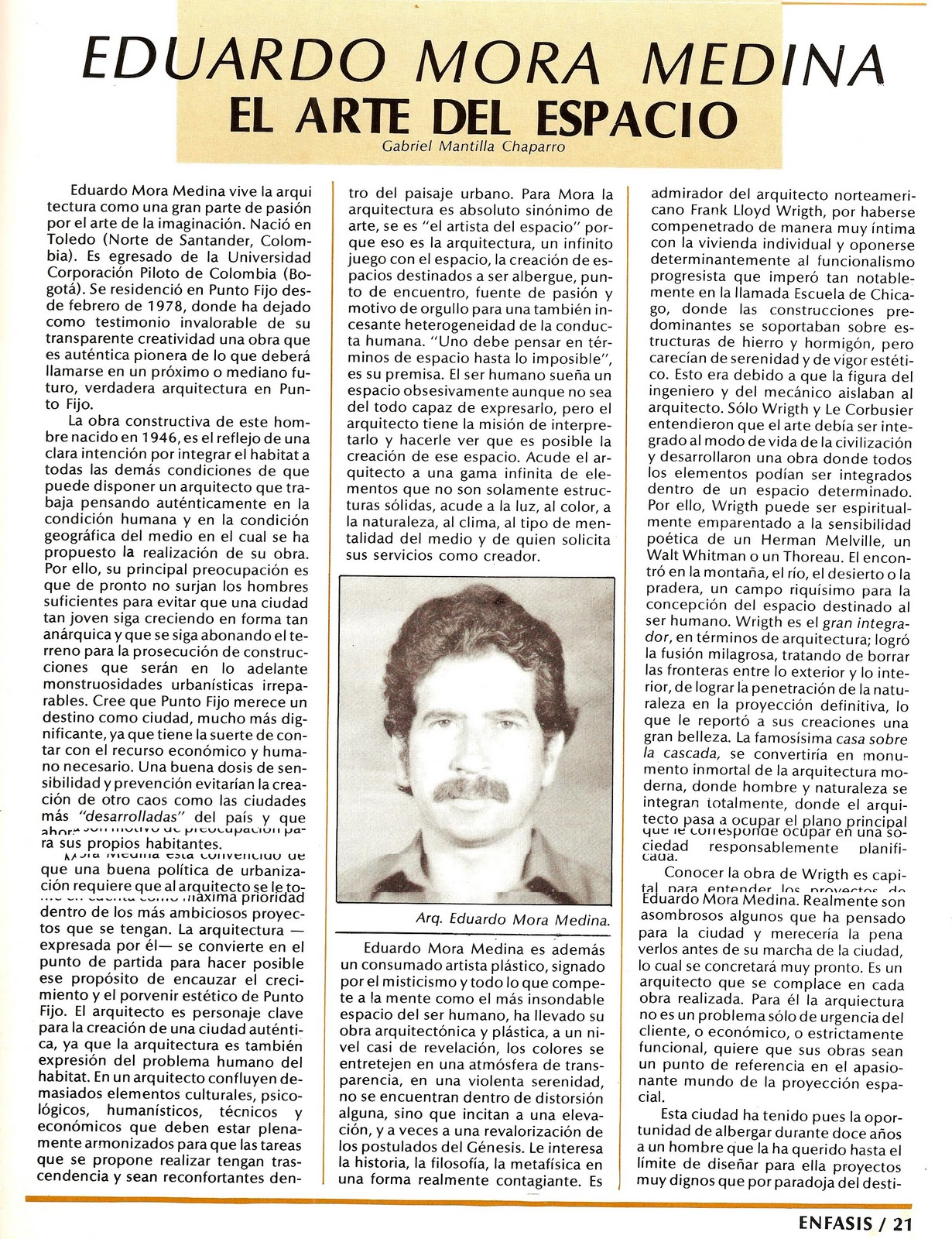 21 y 22 Punto Fijo, Estado Falcón, Venezuela. Diciembre de 1990