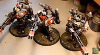 Cómo pintar una armadura XV88 Apocalipsis