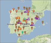 Red de medición de radiactividad nuclear en España
