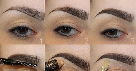 fill eyebrows without looking fake  entertainment news