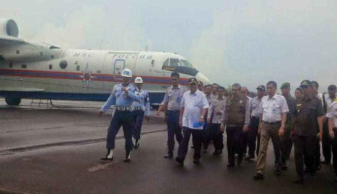 Menteri Maritim Kaji Pembelian Pesawat Amfibi Buatan Rusia