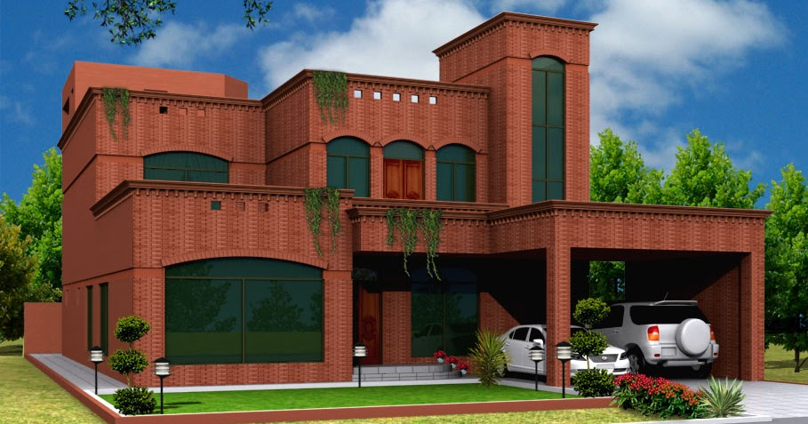 3D Front Elevation.com: traditional + Modern house plans