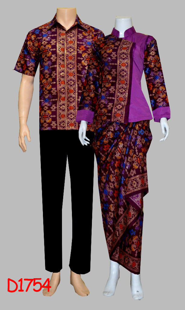 Model Baju Batik Rok Blus Mexican Blouse