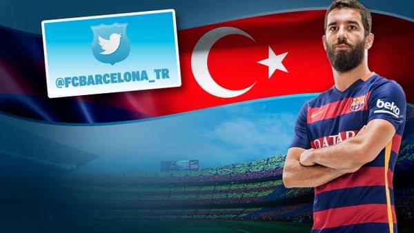 El FC Barcelona abre una cuenta en Twitter en turco
