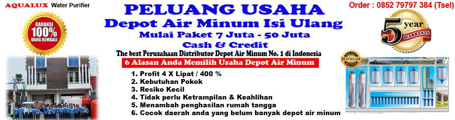 Depot Air Minum Isi Ulang Aqualux Salatiga