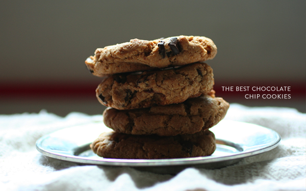 Adrienneats: The best chocolate chip cookies
