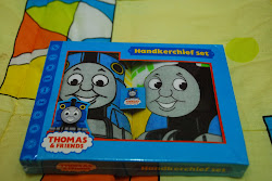 Thomas set handkerchieve 1 box available