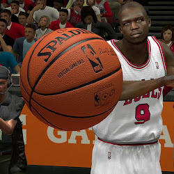 NBA 2k14 HD Spalding Ball Mod - Dark Orange