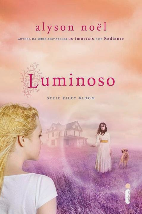 Capa do livro Luminoso (Riley Bloom)