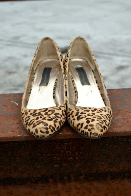 wedges, fall fashion, leopard print
