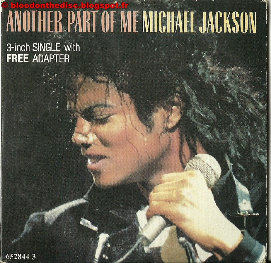 """Another Part of Me 3"""" Pochette"""