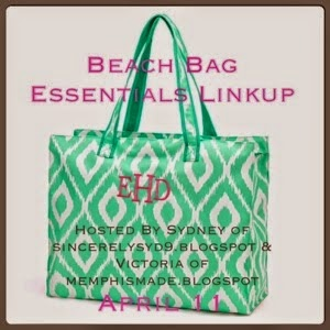 http://sincerelysyd9.blogspot.com/2015/04/beach-bag-essentials-linkup.html