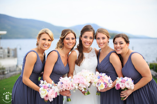 The Sagamore Wedding - Lake George, NY - Flowers - Bridesmaid's Bouquets