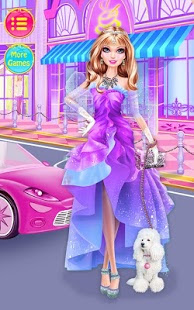 Screenshots of the Fashion Doll for Android tablet, phone.