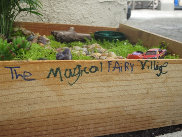 The magical fairy village