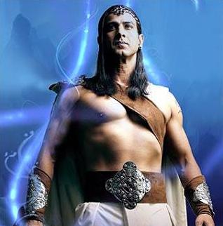 Dalam serial mahabharata, beliau dikenal sebagai sosok panglima perang