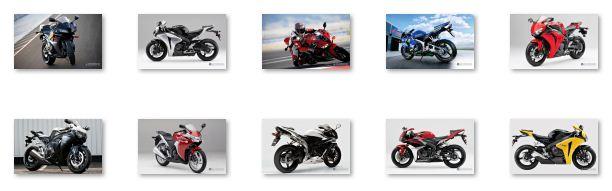 Honda CBR Motorcycles - Honda CBR 400RR, Honda CBR 600RR, Honda CBR 900RR, Honda CBR 929RR, Honda CBR 954RR and Honda CBR 1000RR