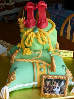 emerald ball cake by pretty cake