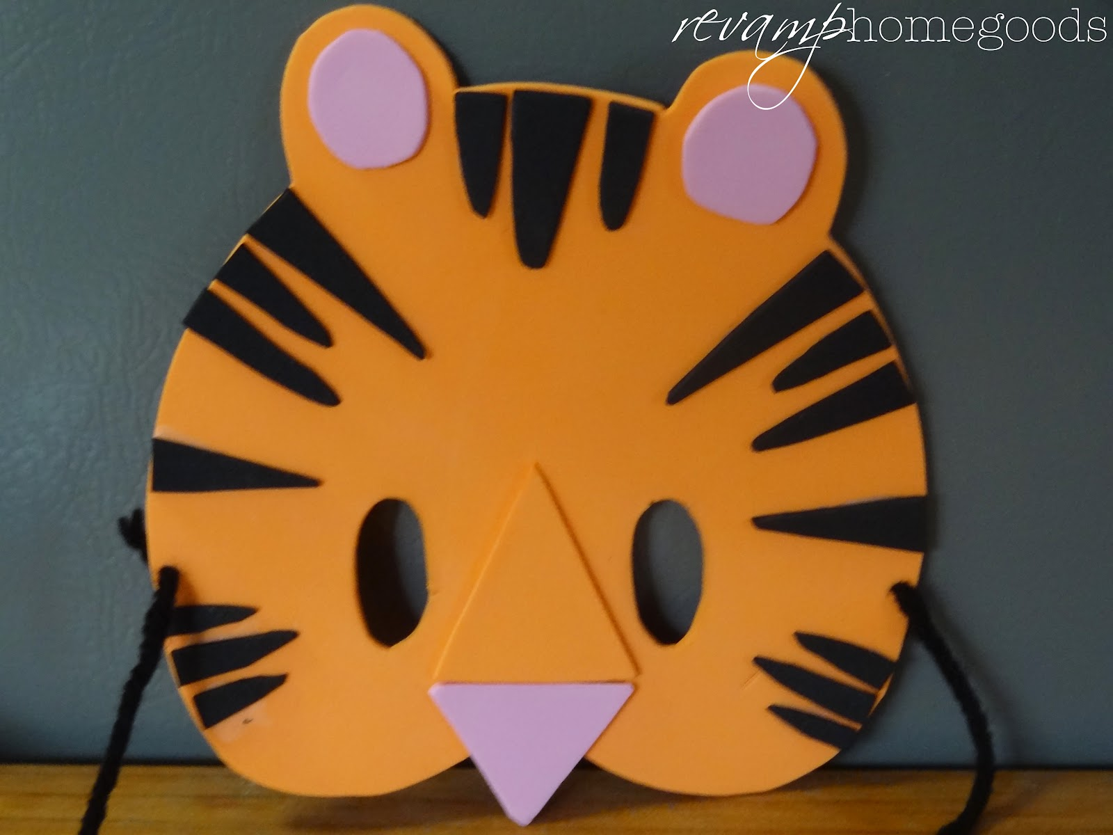 Kids Crafts DIY Foam Animal Masks & Kids Crafts: DIY Foam Animal Masks | Revamp Homegoods