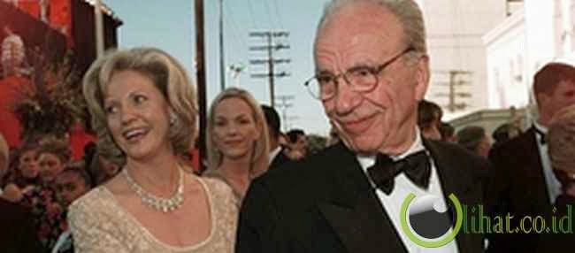 Rupert Murdoch dan Wendi Deng