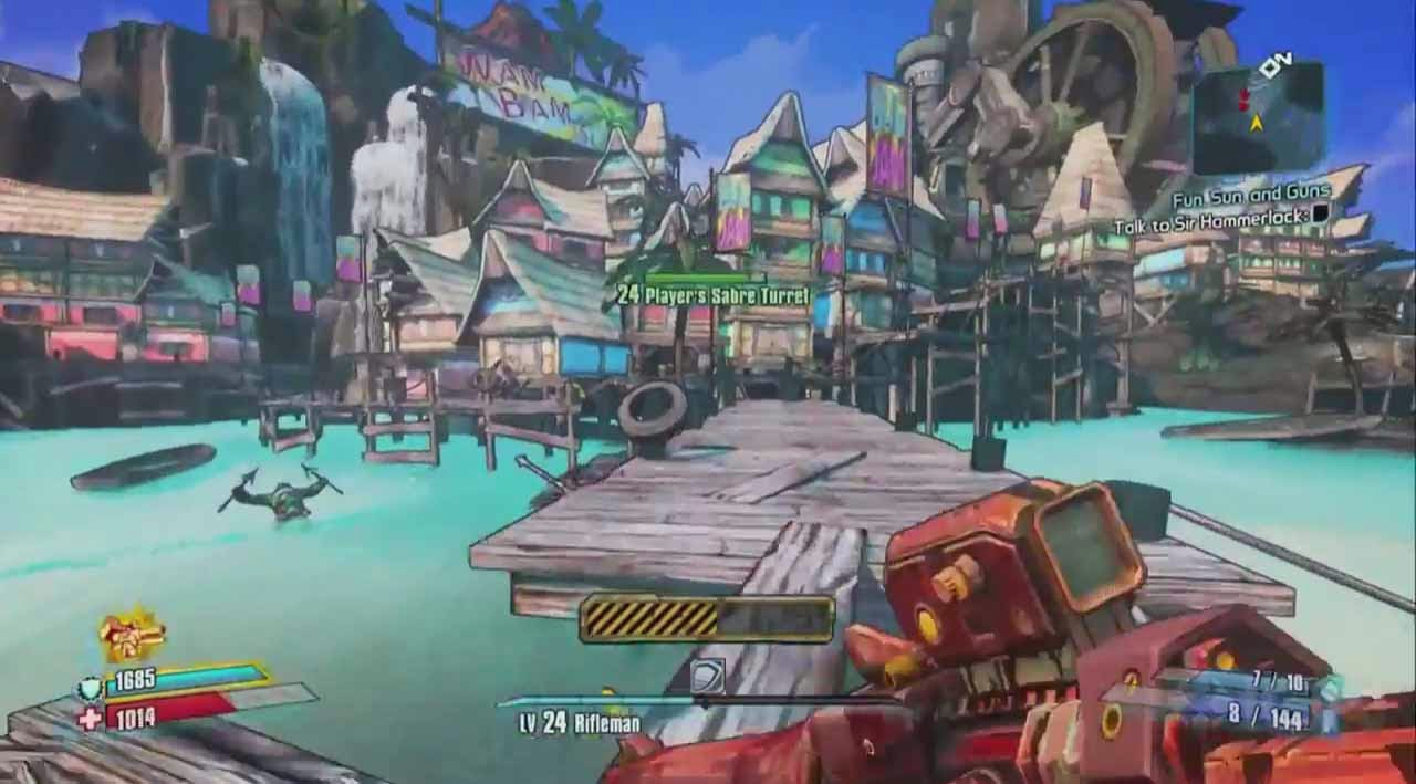 Borderlands 2 Sir Hammerlock vs the Son of Crawmerax screenshot