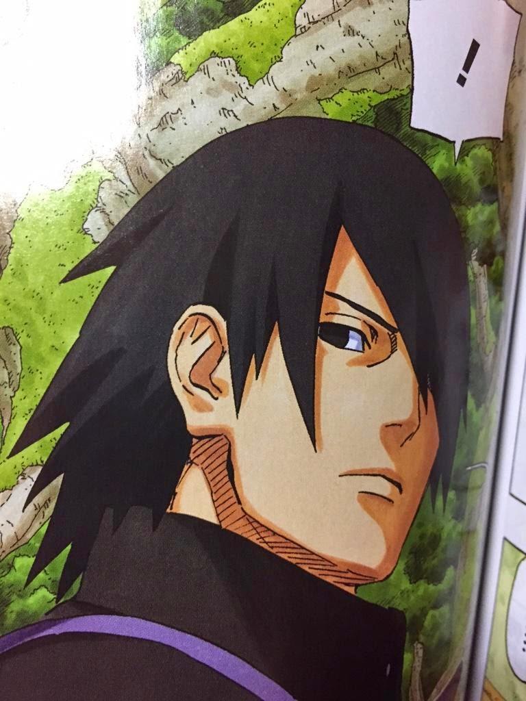 sasuke Manga Baru Naruto Diumumkan Rilis Spring 2015 [Spoiler : Gambar Anak Naruto dan Sasuke Diperlihatkan]