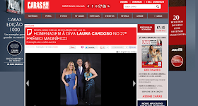 Na revista CARAS