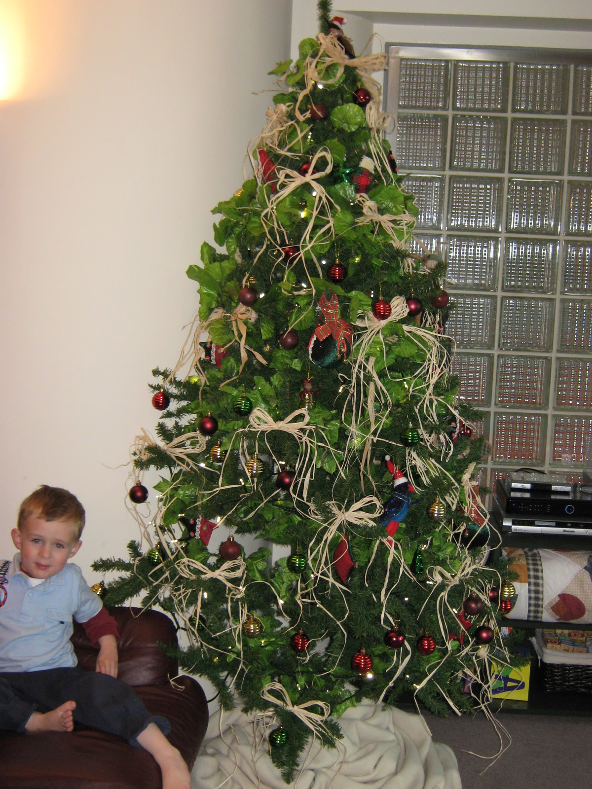 christmas tree pre lit nz